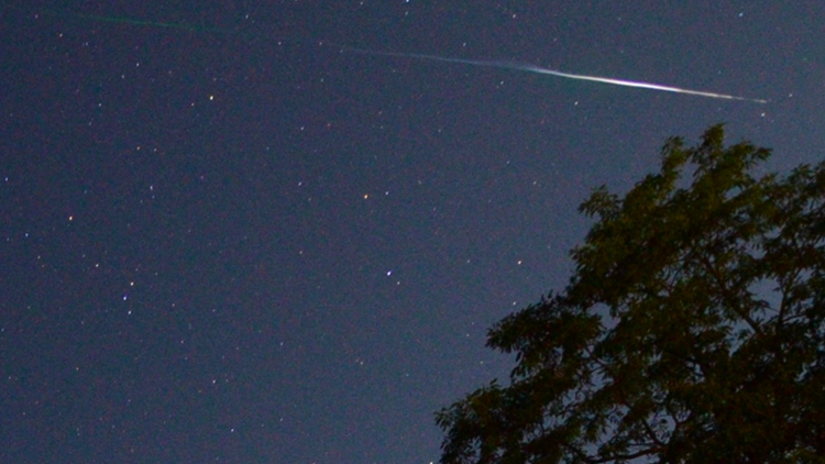 Perseid meteor shower - Dave Samuhel AccuWeather