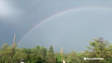 I see your rainbow, and raise you a double rainbow