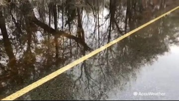 River flooding returns to Florence-hit areas in the Carolinas