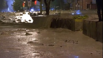 Bolivian city flooded after heavy rain