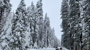 Sierra snowpack is below average in early spring