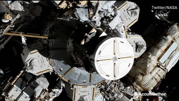 First all-female spacewalk underway