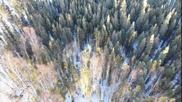 How drones help find lost hikers