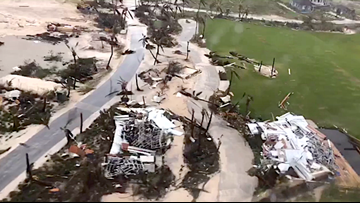 Aerial footage, photos from Bahamas shows widespread destruction from Hurricane Dorian