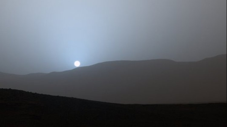 This Is Why Mars Experiences Blue Sunsets