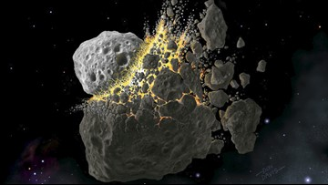 Scientists say asteroid dust could solve the climate crisis