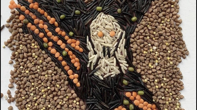 Must-See! Famous Works of Art Recreated with Food & Other Household Items