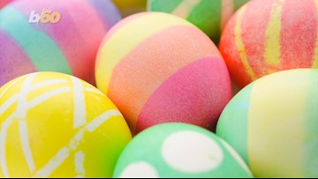Tape and Shaving Cream? Try These Creative Easter Egg Dyeing Hacks