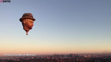 Dutch Company Creates Vincent Van Gogh Hot Air Balloon To Promote Balloon Festival!