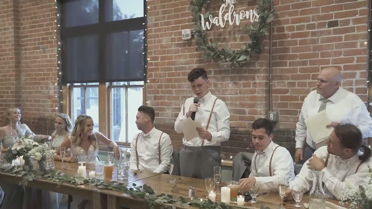 Touching Speech! Brother-of-the-Groom Gives Touching & Funny Speech Despite Social Struggles!