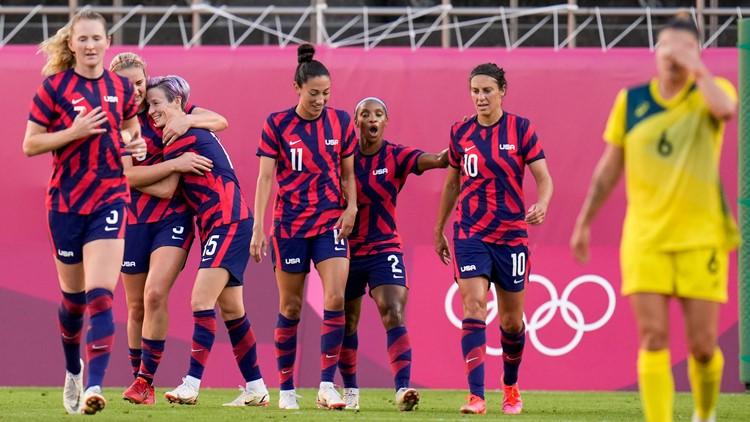 US Women's Soccer, including Mesa native Julie Ertz, take bronze medal after win over Australia
