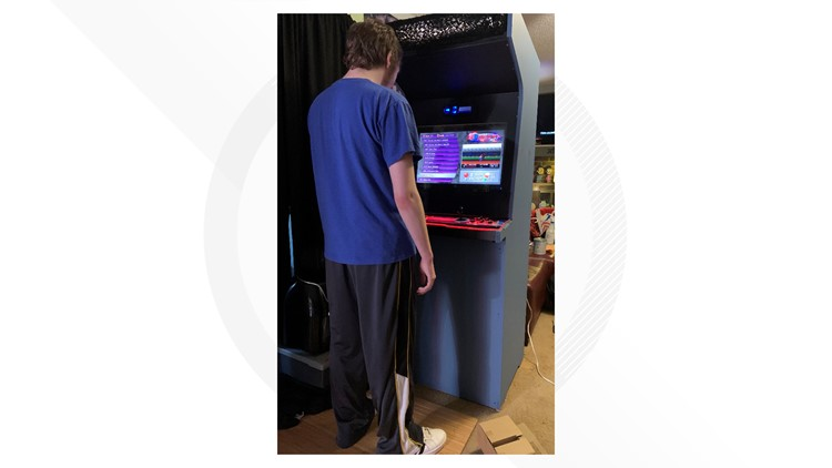 When his son wanted a store-bought arcade game, this dad built a better one himself