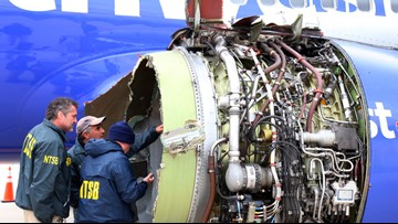 Safety board favors redesign of engine part on Boeing 737s