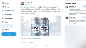 Iowa State fan gets face on beer can after viral fundraiser for kids