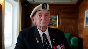 Looking for a ride to Omaha; British veteran remembers WWII