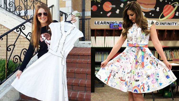 The Weary Teacher's art dress