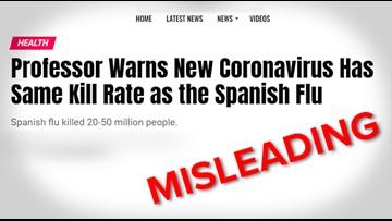 VERIFY: Headlines comparing the coronavirus to Spanish flu are missing context