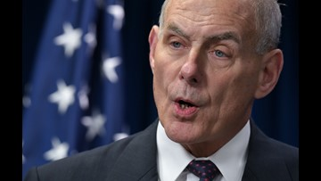 Trump says chief of staff John Kelly will leave his job at end of the year