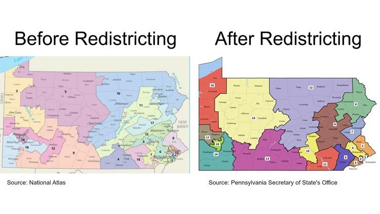 Pennsylvania Congressional maps