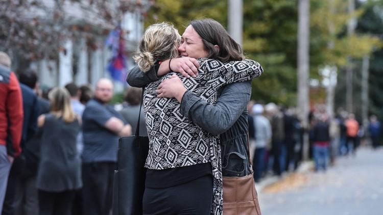 limo crash funeral grieve
