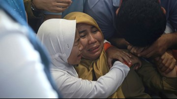 Lion Air flight, 189 on board, crashes into sea off Indonesia