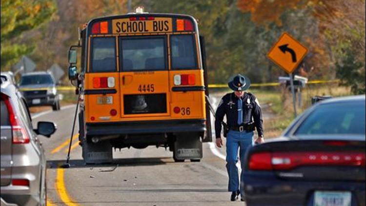 School bus crash Indiana siblings killed