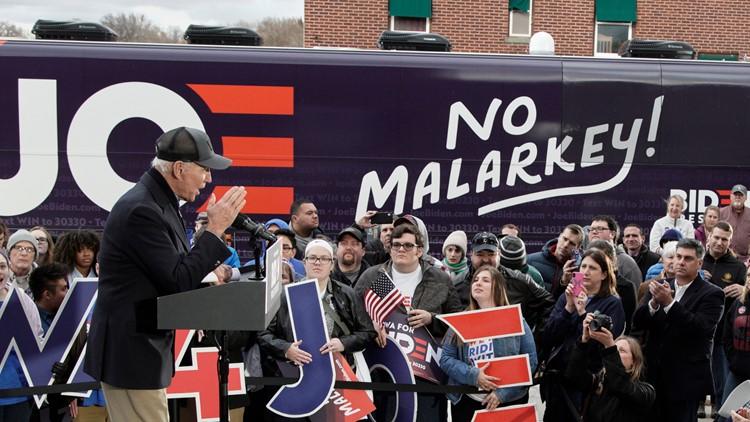 Biden launches Iowa trip with focus on Trump, rural America
