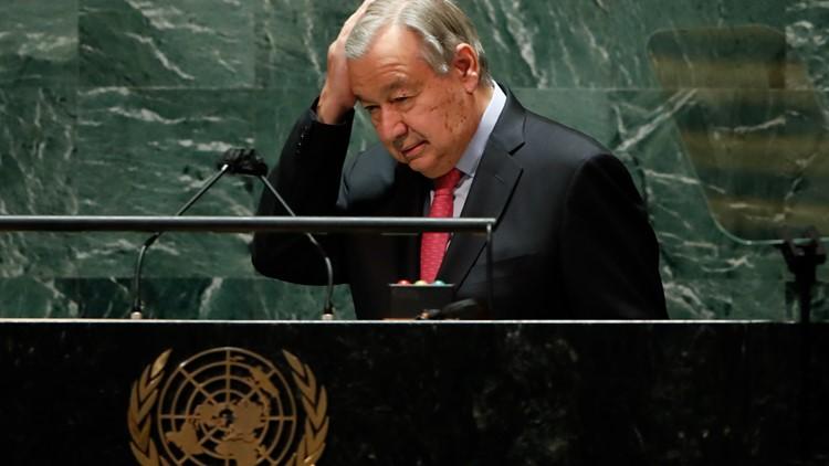 Billionaires rocketing into space draw UN chief's red glare