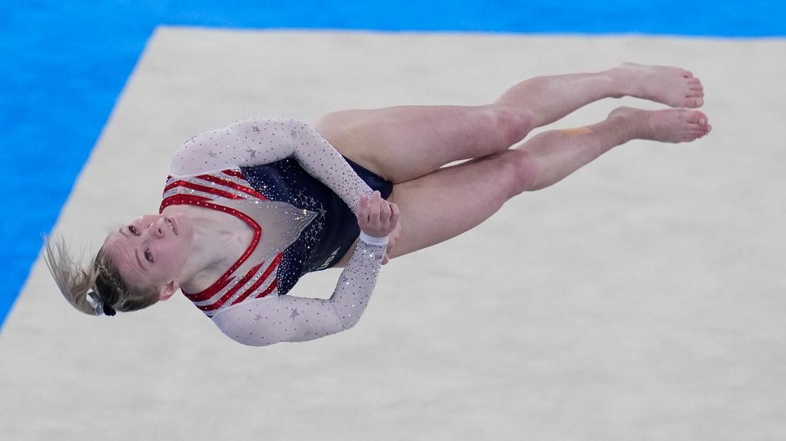 US gymnast Jade Carey shines at Tokyo Games with floor performance