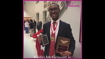 Student becomes high school's first black valedictorian