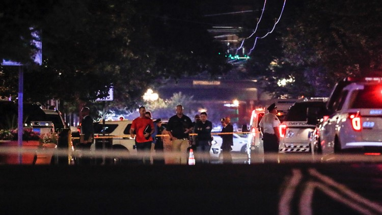 Dayton Ohio Shooting AP