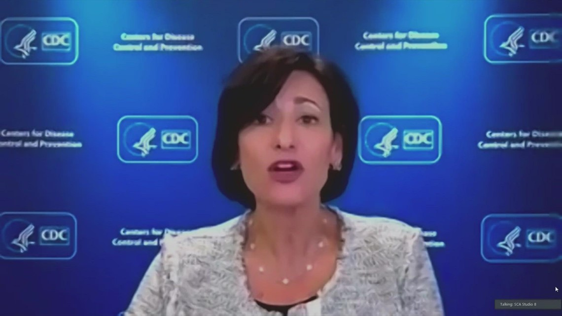 CDC director urges pregnant people to get vaccinated against COVID