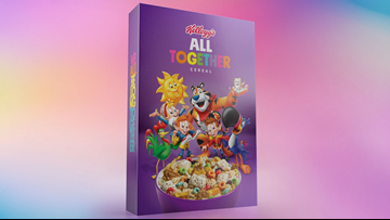 Kellogg's creates 'All Together Cereal' to support LGBTQ anti-bullying campaign