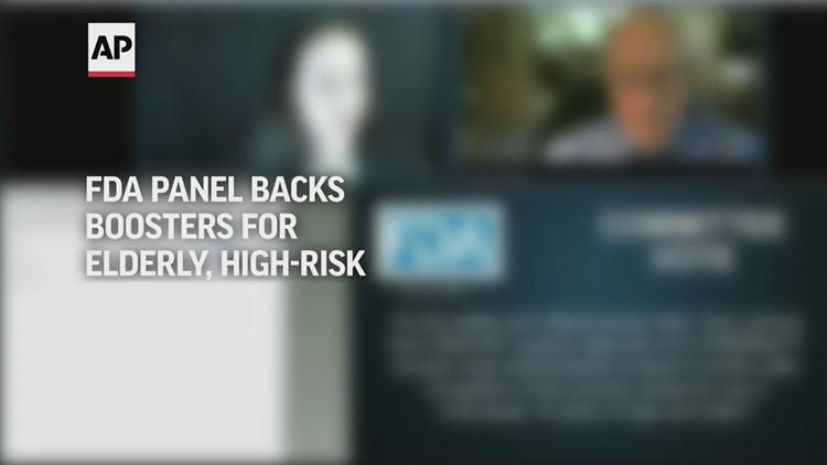 FDA Panel backs boosters for elderly, high-risk