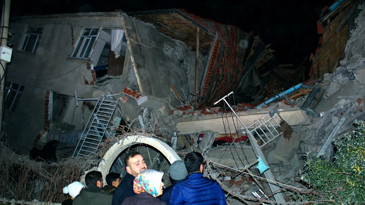 Turkey Earthquake Jan 24 2020 AP