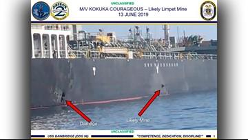 Trump on oil tanker attack: 'Iran did do it'; Iran denies involvement