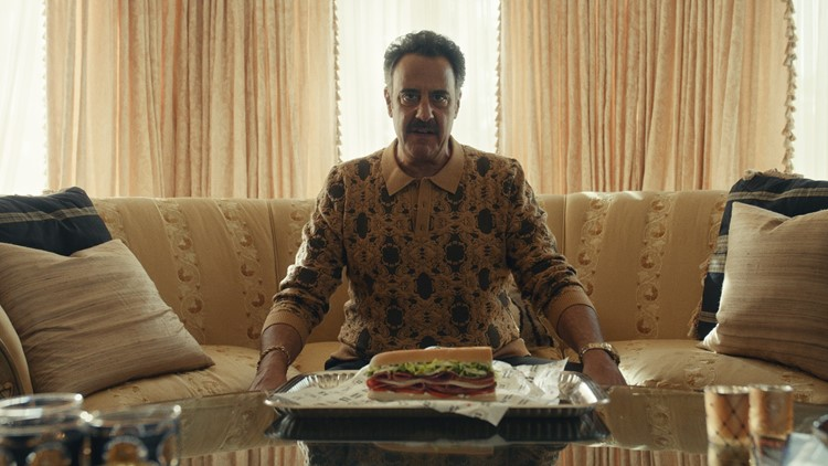 Brad Garrett is 'King of Cold Cuts' in Jimmy John's Super Bowl ad