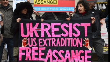 WikiLeaks founder Assange due in court to fight extradition