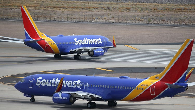 Southwest Airlines reports 'system issues' impacting flights again Tuesday; 25 flights canceled at Sky Harbor