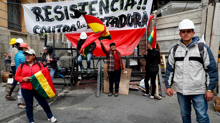 Bolivia Elections protests