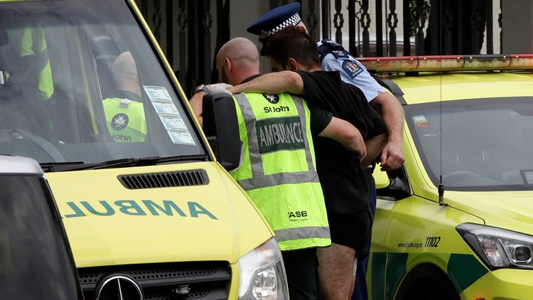 New Zealand Mosque Shooting March 2019