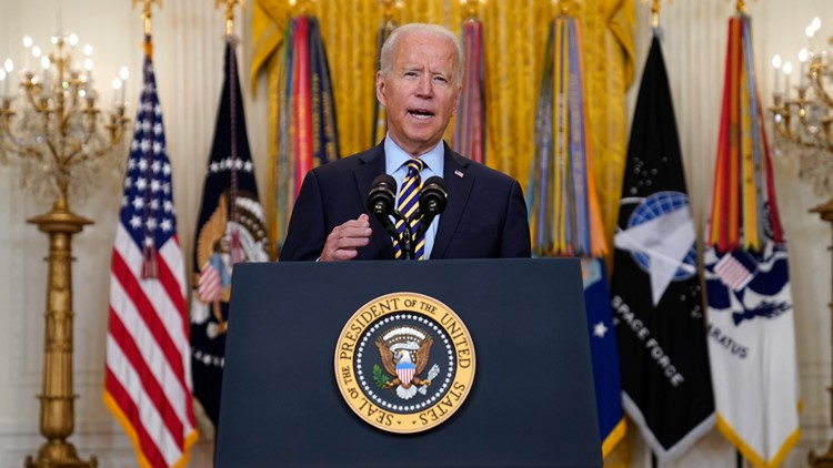 President Biden says US war in Afghanistan will end Aug. 31