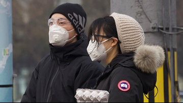 Virus death toll almost 1,400 in mainland China