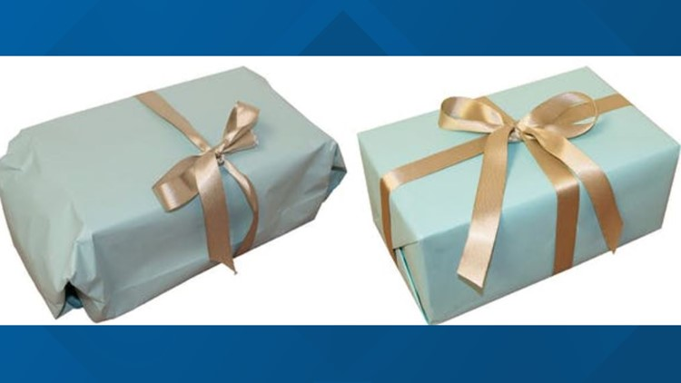 The science of gift wrapping explains why sometimes sloppy is better