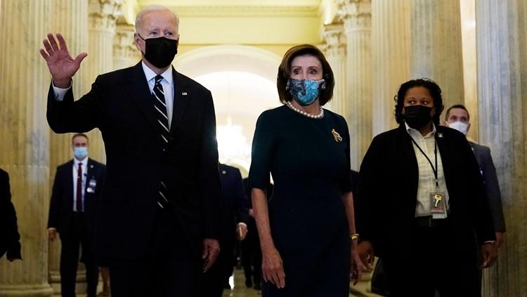 Biden at Capitol to pitch $1.75T agenda, unite Democrats