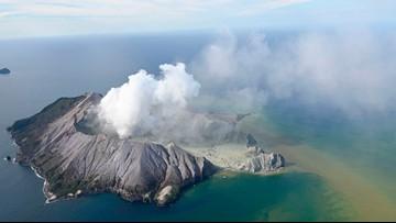 Dozens feared dead in eruption of New Zealand island volcano