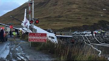 1 dead after plane goes off Alaska runway