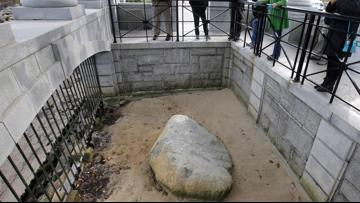 Plymouth rock landmark vandalized ahead of 400th anniversary