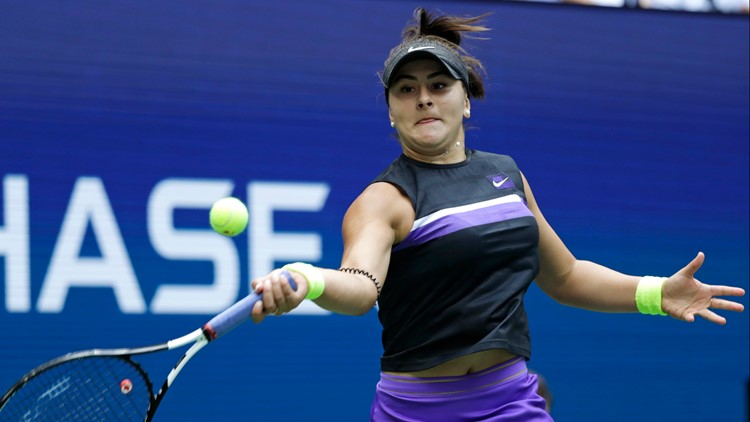 US Open Tennis Bianca Andreescu Serena Williams