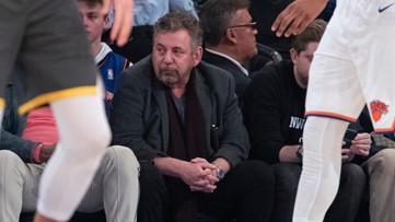 New York Knicks owner, MSG chairman James Dolan has coronavirus